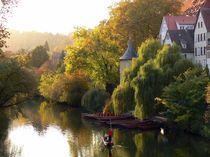 Tübingen, Neckarfront von Klaus-Peter Huschka