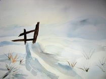 Winterschatten von Ingrid Weschler von azkunsttreff