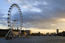 The London Eye at sunset von George Kay