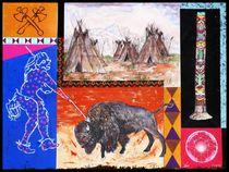 Indianerbild3 von Bernd D. Kugler