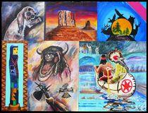 Indianerbild4 von Bernd D. Kugler