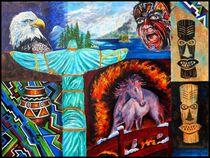 Indianerbild6 von Bernd D. Kugler