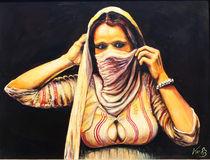 schöne Araberin by Bernd D. Kugler
