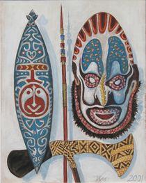 Papua-Neuguinea-Stillleben 2 von Bernd D. Kugler