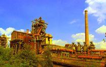Stahlwerk LP Duisburg von Peter Norden