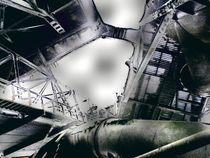 Stillgelegtes Stahlwerk im Licht von Peter Norden