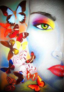 Schmetterlinge von Stephanie Blodau