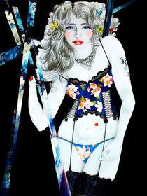 Mädel in Dessous von Stephanie Blodau