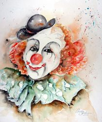 Clown Valentino von Christl Benkmann