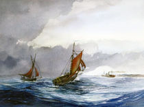 Gaff boats von Arthur Williams