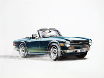 Triumph TR6 by Arthur Williams