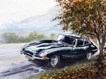 Jaguar E-Type Coupé by Arthur Williams