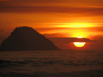 Sunset in Lurin by Stefan Franke