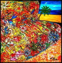 Ein Traum im Blumenfeld von Wolfgang Leng