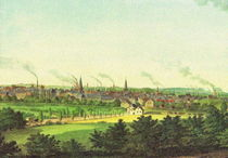Historische Stadtansicht - Essen 1860 by pointone
