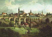 Stadtansicht - Bautzen 1850 by pointone