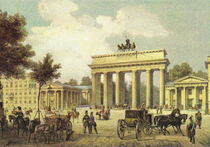 Brandenburger Tor - Berlin 1850 von pointone