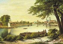 Historische Stadtansicht - Breslau 1850 by pointone