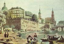 Historische Stadtansicht - Dresden 1850 by pointone