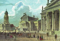 Gendarmenmarkt - Berlin 1830 by pointone