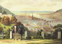 Historische Stadtansicht - Heidelberg 1825 von pointone