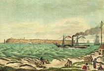 Historische Stadtansicht - Helgoland 1827 von pointone