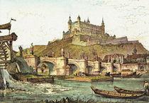 Historische Stadtansicht - Würzburg 1835 by pointone