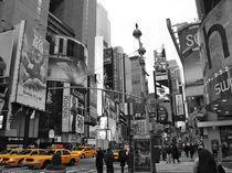 New York Time Square Taxi in Gelb von mafiiiiii