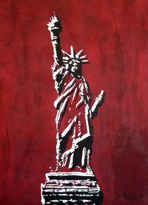 Statue of Liberty, Freiheitsstatue Libertas von Bela Manson