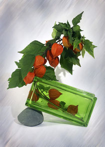 Vase mit Lampions von Wolfgang Wittpahl