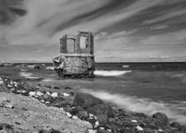 Ruine am Kap Arkona von Wolfgang Wittpahl