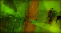 Grüne Transparens by Frank Rebl