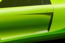 Green Car by Frank Rebl