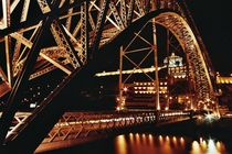 Brücke bei Nacht von pimlico