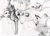 Tuschezeichnung 001 by Christine K.