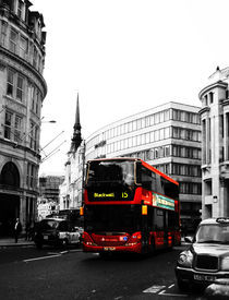 London red busses by miekephotographie