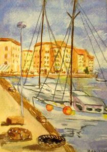 Boote in Spanien by malatelierstuke