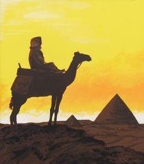 Tuareg Im Sonnenaufgang von malatelierstuke