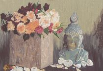 Rosen und Buddha von malatelierstuke
