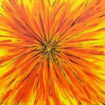 Das Zentrum - Blume oder Strahl? by malatelierstuke