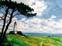 Leuchtturm Dornbusch von malatelierstuke