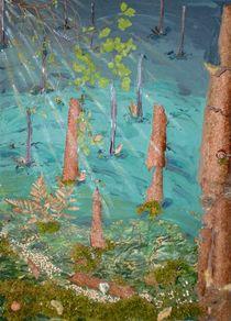 Holz Wald von malatelierstuke