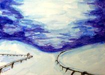 Winterlandschaft by malatelierstuke