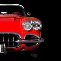 Classic Car (red) von Beate Gube