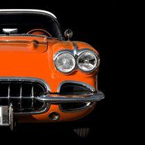Classic Car (orange) von Beate Gube