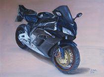 Motorrad Honda CBR 1000 von pjb-art