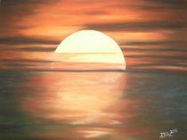 Sonnenuntergang am Meer von pjb-art