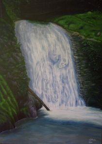 Wasserfall der Liebenden von pjb-art