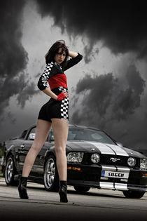 Mustang GT 500-II von Tina Borggraefe-Eichler