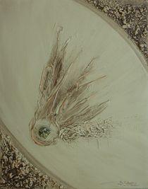 Glückskomet mit Pyrit by Brigitte Schwarz